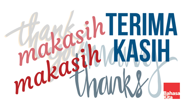To Thank Or Not To Thank In Indonesian Bahasa Indonesia
