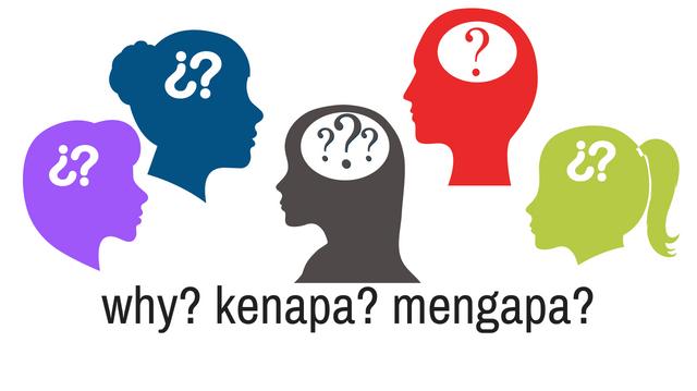 Kenapa And Mengapa Indonesian Language Online Resource